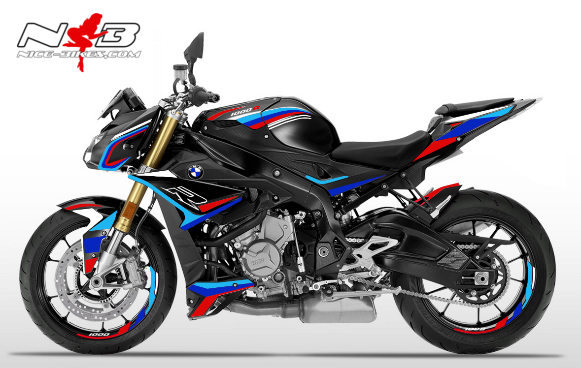 Foliendesign BMW S1000R (Bj. 2020) Motorsport Edition