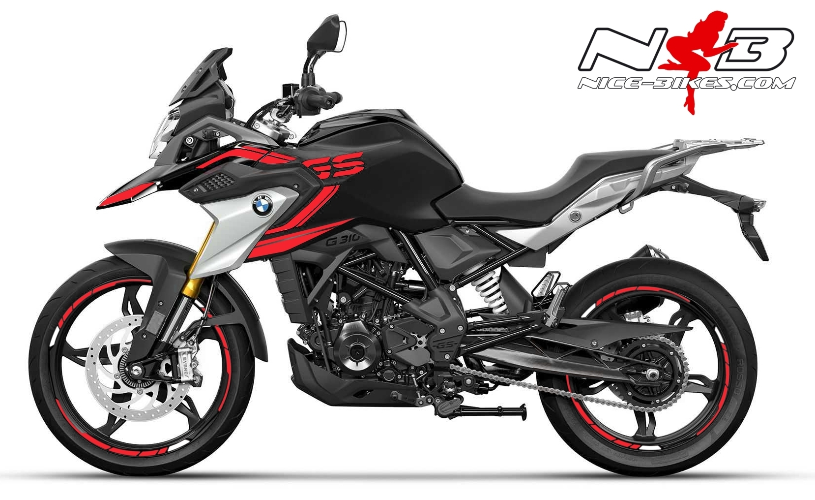 Foliendesign BMW G310GS 2021 Racing Red