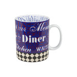 Becher Diner Kitchen - Blau