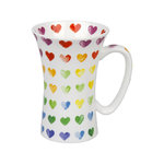 Mega Mug Colorful Cast - Hearts