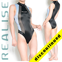 "N037 P-3 REALISE hydrasuit black-grey-blue ""Super Shiny Wet"""