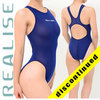 "N1001 REALISE ""SECONDSKIN"" classic see through hydrasuit in navy"