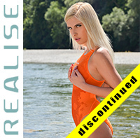 "N1001 REALISE ""SECONDSKIN"" classic see through hydrasuit in orange"
