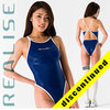 "N033 SP1 REALISE Hydrasuit classic in navy-white ""Super Shiny Wet"""