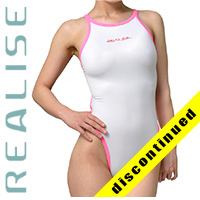 "N033 SP4 REALISE Hydrasuit classic in white-pink ""Super Shiny Wet"""