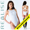 "N011 REALISE Hydrasuit classic white ""Super Shiny Wet"""
