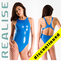N108 REALISE hydrasuit in blue, classic leg & back STICKY SKIN