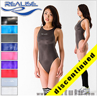 "Realise [N-011] ""SSW"" wetlook swimsuits with sportback"
