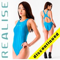 "Realise [KN-5010] ""SW Striped"" swimsuits"