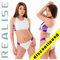 "Realise [N-060] ""SSW"" athletic wetlook 2-piece, sport-bikini"