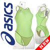 ALS85T ASICS Hydro CD swimsuit with sportback lime
