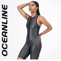 "OCEANLINE ""SPRINT SKIN FS"" neoprene swimsuit shorty"