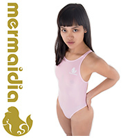 MERMAIDIA Japan import swimsuit with sportback in icepink