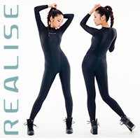 REALISE FB-001 catsuit full body swimsuit black