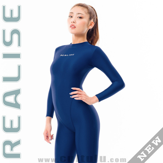 REALISE FB-001 catsuit full body swimsuit navy