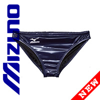 85RQ96 MIZUNO rubberized Waterpolo Badehose in navy