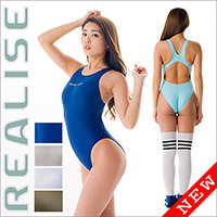 "REALISE [N-111] ""Easy Stretch"" swimsuits with sportback"