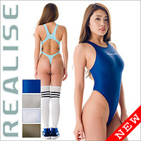 "REALISE [T-111] ""Easy Stretch"" thong swimsuits"