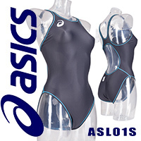 ASL01S ASICS SPURTeX FINA swimsuit charcoal