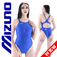 MIZUNO N2MA8221 FINA swimsuit with sportback blue