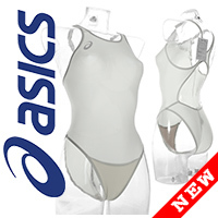 ALS85T ASICS Hydro CD swimsuit with sportback white