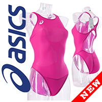 ALS85T ASICS Hydro CD swimsuit with sportback pink