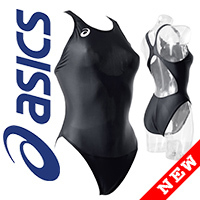 ALS85T ASICS Hydro CD swimsuit with sportback black