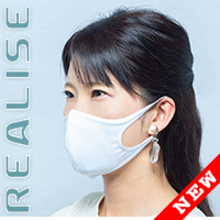 MSK-001 REALISE 2Way mask (Easy Stretch) in 5 colors