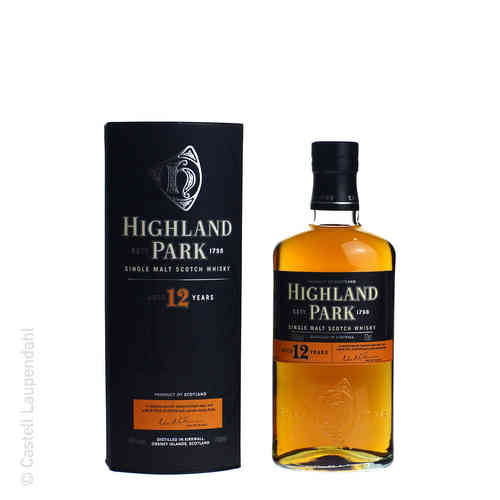 Highland Park 12 Years Single Malt 0,7l 40%