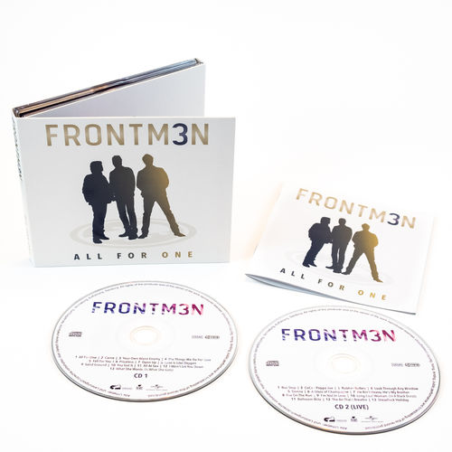 FRONTM3N - All For One - (Doppelalbum / 2CD)