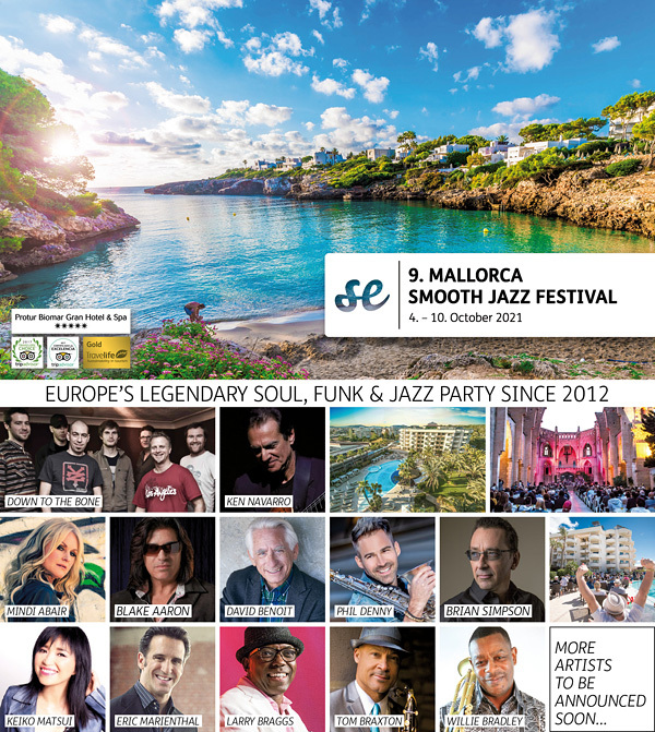 MALLORCA SMOOTH JAZZ FESTIVAL 2021