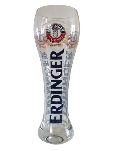 Erdinger - 3 Liter - XXL German Beer Glass - NEW