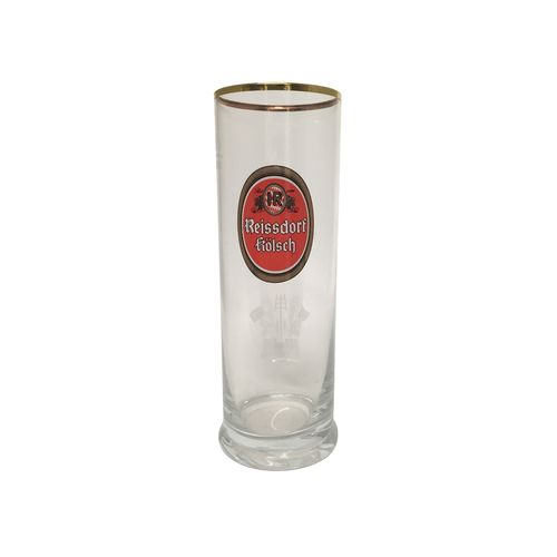 Reissdorf Kolsch - German Beer Glass 0.2 Liter - *Stange* - NEW